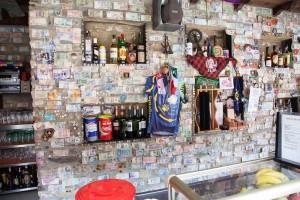Bar del Albergue del Pilar en Rabanal del Camino