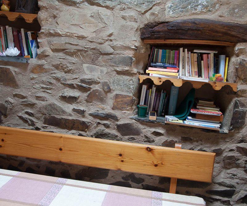 Comedor y cocina para Peregrinos en Rabanal del Camino, Albergue El pilar