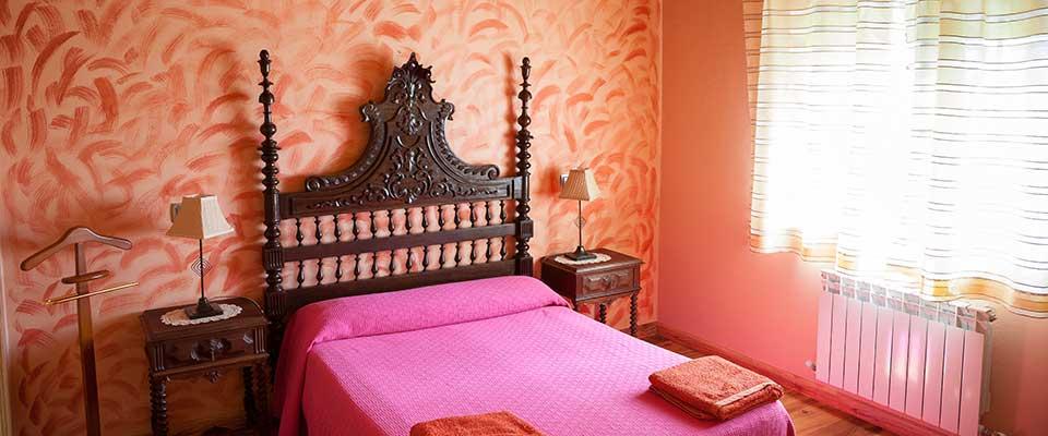Rabanal del Camino, Albergue el Pilar, vista de habitación individual